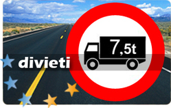 Divieti circolazione autocarri superiore a 7.5 t per l'anno 2013 | Autocarri | Scoop.it