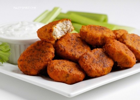 Paleo Buffalo Chicken Nuggets | The Man With The Golden Tongs Goes All Out On Health | Scoop.it