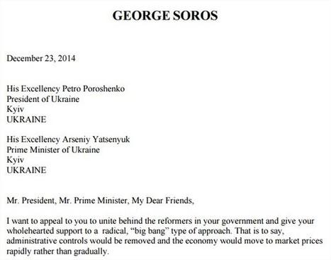 » Fuites : comment le milliardaire Georges Soros tire les ficelles US en Ukraine | Géopoli | Scoop.it