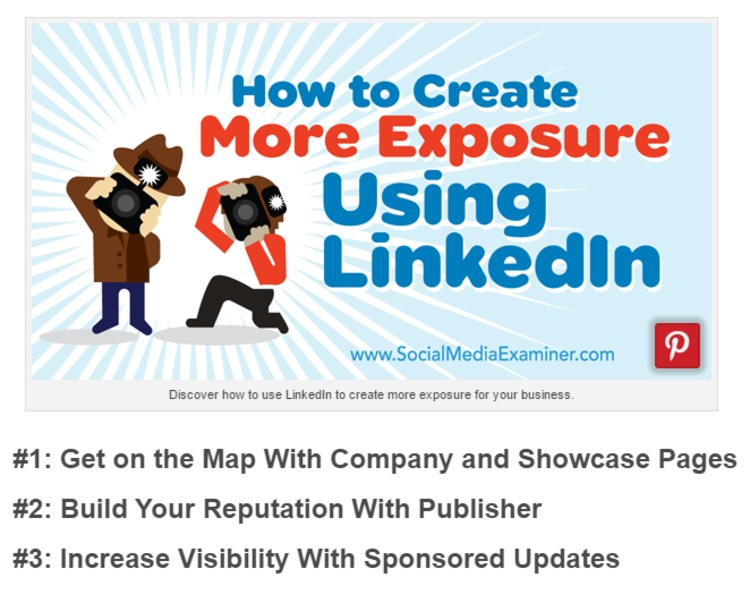 How to Create More Exposure Using LinkedIn : Social Media Examiner | The Marketing Technology Alert | Scoop.it