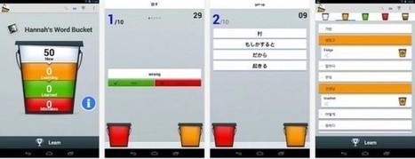 Word Bucket, aplicación gratuita para aprender ... | Teachelearner | Scoop.it