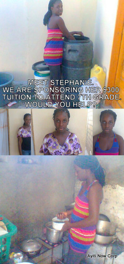 7th Grader - Ayiti Now Corp - Tuition Program | Ayiti Now Corp | Scoop.it