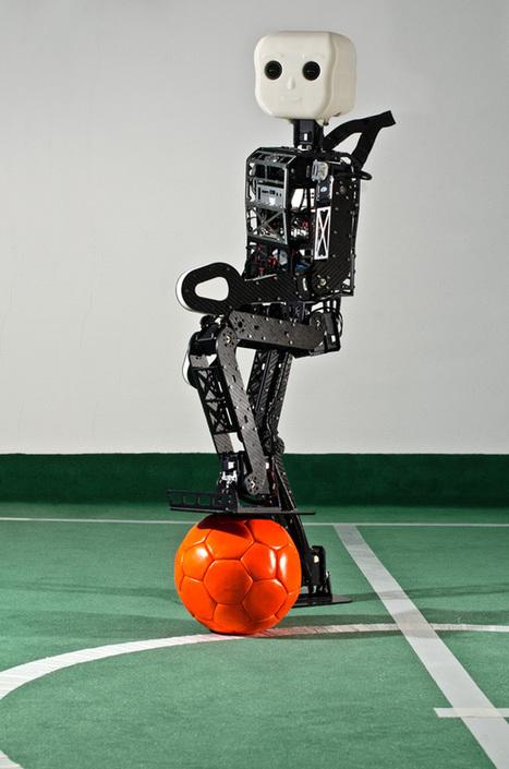 NimbRo un humanoïde open-source allemand   Actualités robots et humanoïdes   Scoop.it