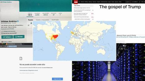 El mayor ataque ciberterrorista en 10 años impide ingresar a sitios como CNN, Infobae, New York Times y Twitter | new-top | Scoop.it