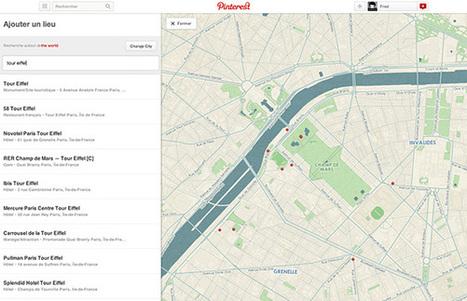 Comment créer une carte avec Pinterest | Time to Learn | Scoop.it