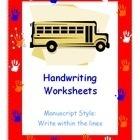 Handwriting Worksheets | Pre-K for all | Scoop.it
