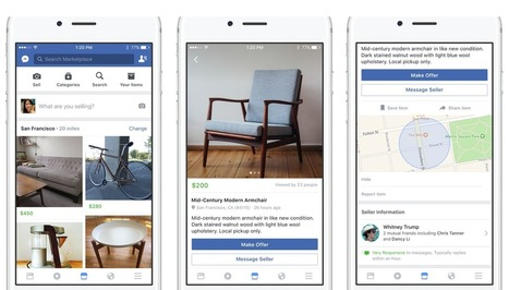 Facebook Launches Marketplace, a Friendlier Craigslist | TechCrunch | SocialMoMojo Web | Scoop.it