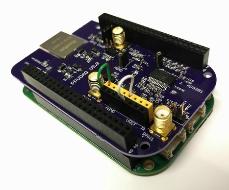 Open Source ADC board for BeagleBone #BeagleBone #OpenSourceHardware | Raspberry Pi | Scoop.it