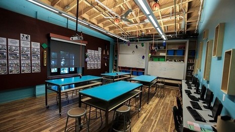 To Inspire Learning, Architects Reimagine Learning Spaces | Flipped | Scoop.it