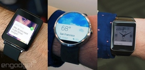 The three faces of Android Wear, compared | UX-UI-Tech for Enhanced Human | Scoop.it