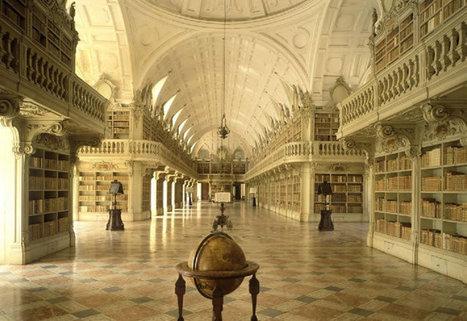 Portugal tem a biblioteca mais bonita do mundo!   Historia e Tecnologia   Scoop.it