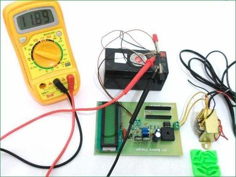 12v Battery Charger Circuit Diagram using LM317 | Arduino Projects | Scoop.it