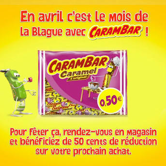 Twitter / Carambar_France: C'est le mois de la #blague ...   Le Carambuz   Scoop.it