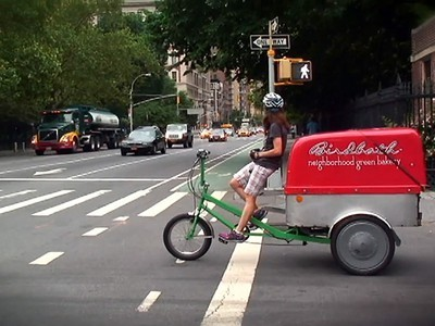 Urban Sociologist & Cargo Bike Delivery-Woman (Cyclist Profile) | Vertical Farm - Food Factory | Scoop.it