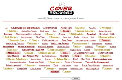 Cover Browser - to explore galleries of comic books & magazines | Pizarra Digital | Scoop.it