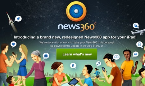 News360 - App | IPAD APPLICATIONS FOR TEACHERS | Scoop.it