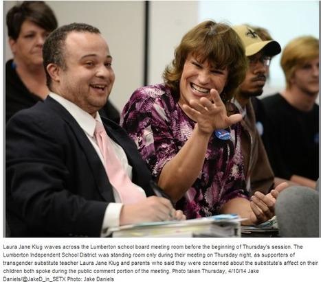 Victory in Texas! Lumberton School reinstates transgender teacher ... | Transgender News | Scoop.it