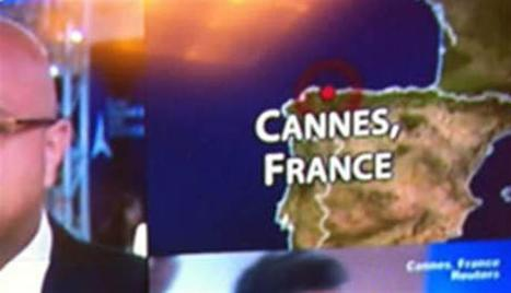 France/Monde | Quand CNN situe Cannes en Espagne | LYFtv - Lyon | Scoop.it