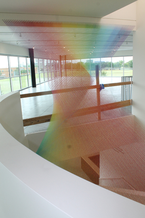 Gabriel Dawe installation dazzles in new Community Center | LGBT Community Centers | Scoop.it