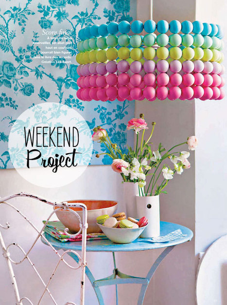 DIY : Ping pong ball lampshade | Recyclart | Creative Cables and Lighting Design | Scoop.it