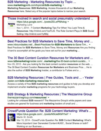 The B2B primer on Google+ (Part 1) - B2B News Network | Business in a Social Media World | Scoop.it