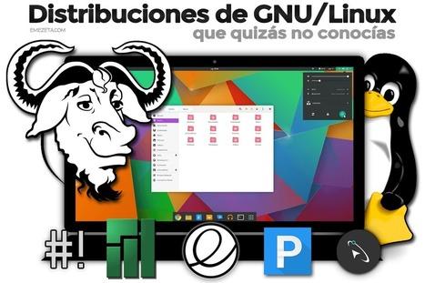 10 distribuciones de GNU/Linux que quizás no conocías | Emezeta | Software libre | Scoop.it