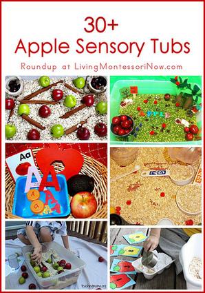 30+ Apple Sensory Tubs | Montessori Inspired | Scoop.it