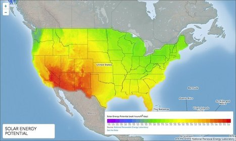 MAP: Here's Where Solar Power Will Be Huge | The Texas Solar Energy Glut | Scoop.it