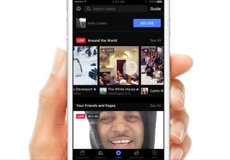 Facebook bets big on Live with new mobile video discovery tab - Techcrunch | mvpx_Vid | Scoop.it