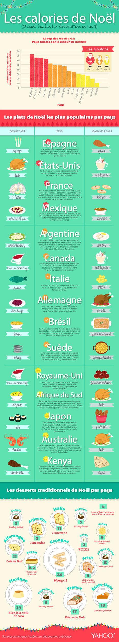 Qui mange le plus gras à Noël ? | DataVizz | Scoop.it