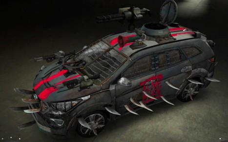 Hyundai Santa Fe Zombie Survival Machine BY Anson Kuo - Movie Balla | ApocalypseSurvival | Scoop.it