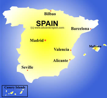 Country name and capital | Spain, Mara Hoyle | Scoop.it