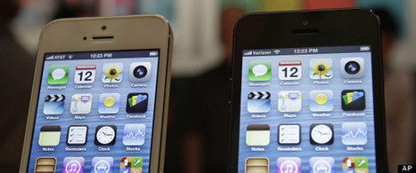 iPhone Market Share In U.S. Overtakes Android, Research Firm Says   RedPrairie is Commerce in Motion   Scoop.it