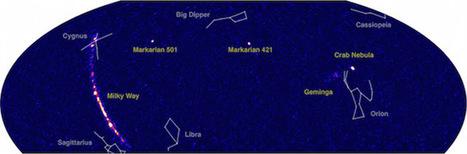 Ça se passe là haut...: HAWC fournit une nouvelle carte du ciel en rayons gamma | C@fé des Sciences | Scoop.it