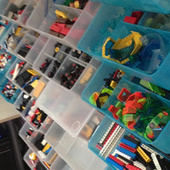 Create a Storage Wall for Your Vast Lego Collection or Other Small ...   Fun Recycle   Scoop.it