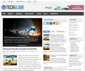 TechGlobe Blogger Template | Blogger Templates 2015 | Blogger Templates | Scoop.it