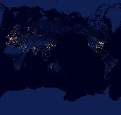 Google: Earth at Night 2012 (interactive) | Geography | Scoop.it