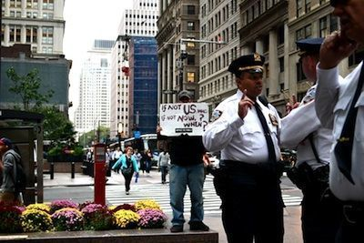 The Indypendent » The Whole World Is Watching: Nonviolence at Liberty Plaza | #OccupyWallstreet | Scoop.it