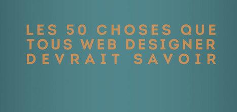Les 50 astuces qui pourraient aider un WebDesigner - #Olybop | Entrepreneurs du Web | Scoop.it