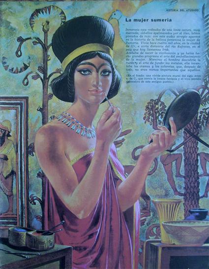 La primera celebración del Día de la Mujer, hace más de 40 siglos | Reflejos | Scoop.it
