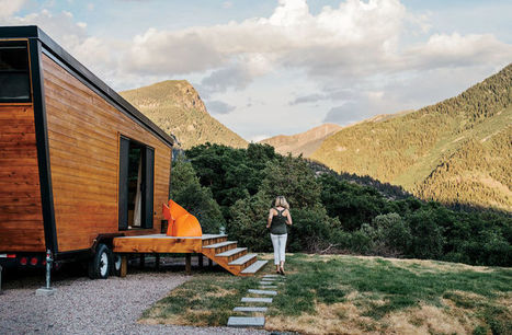 A Tiny, DIY Trailer Home Built by a Couple on a Budget   PROYECTO ESPACIOS   Scoop.it