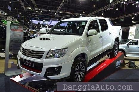 """Toyota Hilux Vigo độ gói TRD Sportivo thêm """"ngầu"""" - Nắp thùng Canopy xe bán tải 2014   Tổng hợp   Scoop.it"""