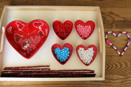 Activity of the Week – Turning Valentine Crafts into Montessori-Oriented Activities | SMART TINKER SCOOPS FOR PARENTS | Scoop.it