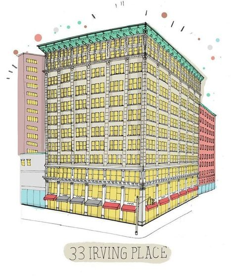 One man's heroic attempt to draw all the buildings in New York | D_sign | Scoop.it