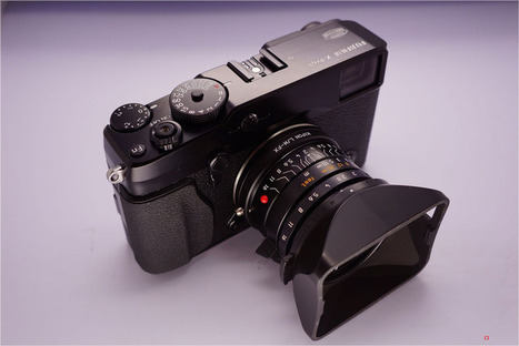 Third party Leica M-mount lens adapter for Fuji X-Pro1 to start shipping this month | FASHION & LIFESTYLE! | Scoop.it