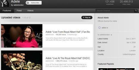 YouTube conclut un accord encadrant l'utilisation de musiques par les internautes   TICE & FLE   Scoop.it