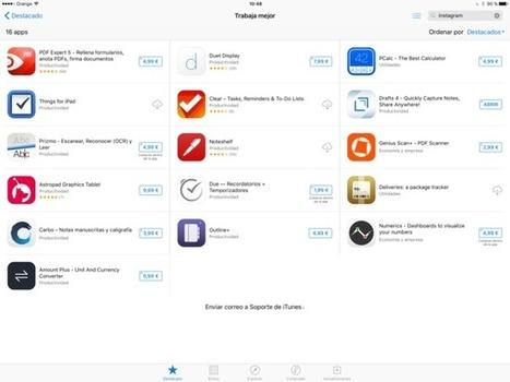 Las principales apps de productividad en iOS, a mitad de precio por tiempo limitado | Uso del Ipad en primaria | Scoop.it