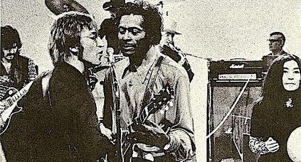 John Lennon, Yoko Ono, and Chuck Berry perform | tunes | Scoop.it