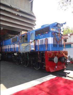 First Bio Diesel locomotive flagged – Indian Rail Info | IRCTC Info | Scoop.it