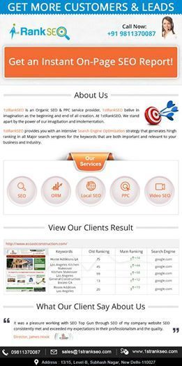 1strankseo Company | First Rank SEO Delhi | Scoop.it